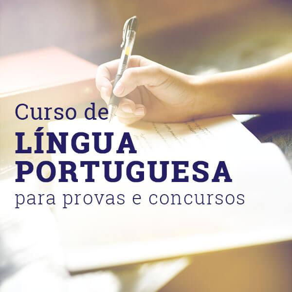 curso lingua portuguesa provas e concursos
