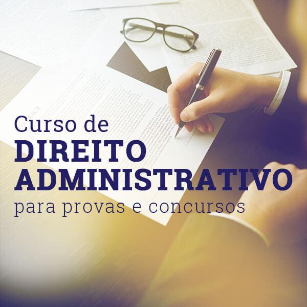 curso direito administrativo provas e concursos