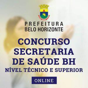 Concurso Secretaria de Saúde BH 2020 | Approbare