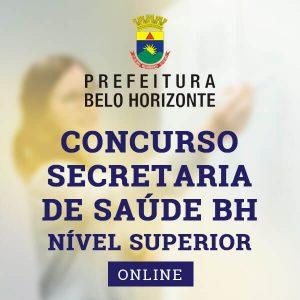 Concurso Secretaria de Saúde BH | Approbare Cursos