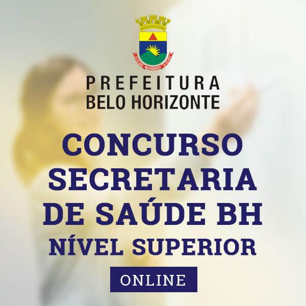 Concurso Secretaria de Saúde BH   Approbare Cursos