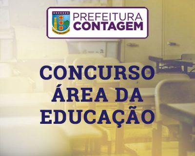 Concurso Prefeitura de Contagem – Área de Educação