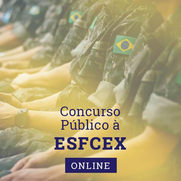 Concurso Público à EsFCEx online   Approbare Cursos Preparatórios