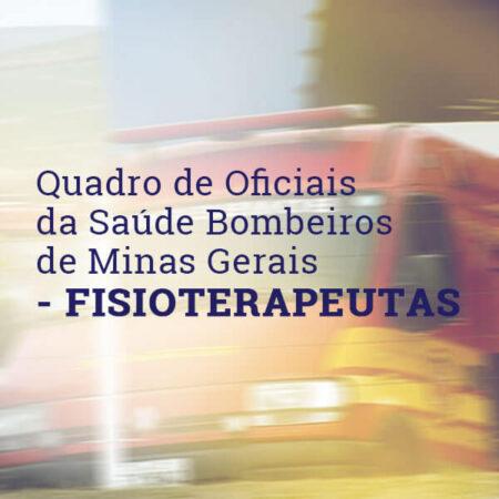Fisioterapeutas  – QOS – Corpo de Bombeiro Militar de Minas Gerais